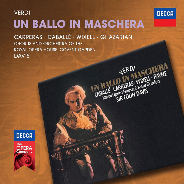 Un ballo in maschera: Carreras/Caballe/Wixell/Ghazarian/Davis
