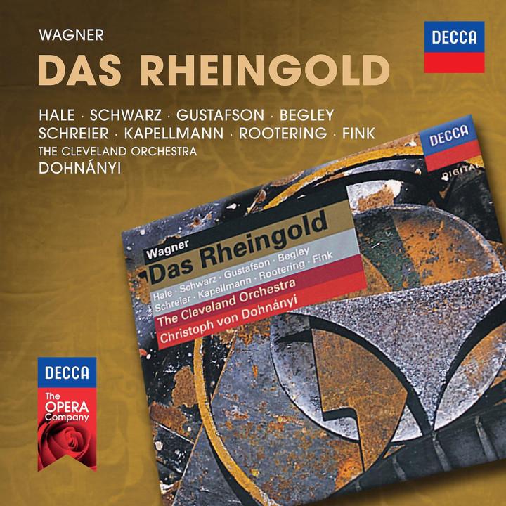 Das Rheingold: Hale/Schwarz/Gustafson/Begley/Dohnanyi