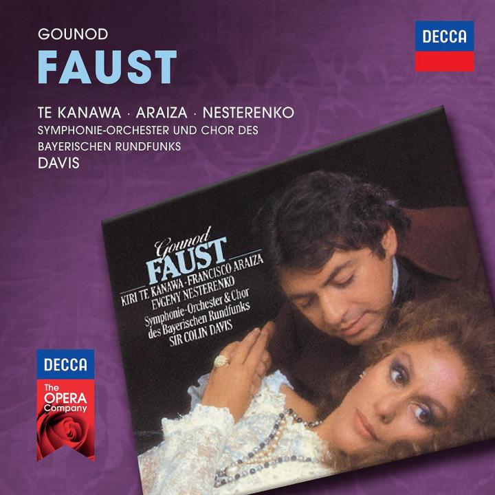 Faust: Te Kanawa/Araiza/Nesterenko/Davis