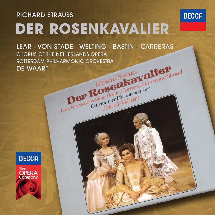 Der Rosenkavalier: Lear/Von Stade/Welting/Bastin/Carreras