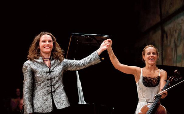Hélène Grimaud, Erste gemeinsame Duo-Aufnahme von Hélène Grimaud und Sol Gabetta