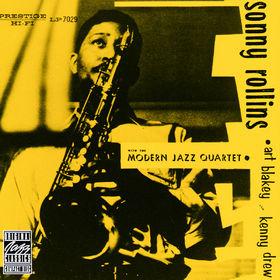 Sonny Rollins, Sonny Rollins With The Modern Jazz Quartet, 00025218111126