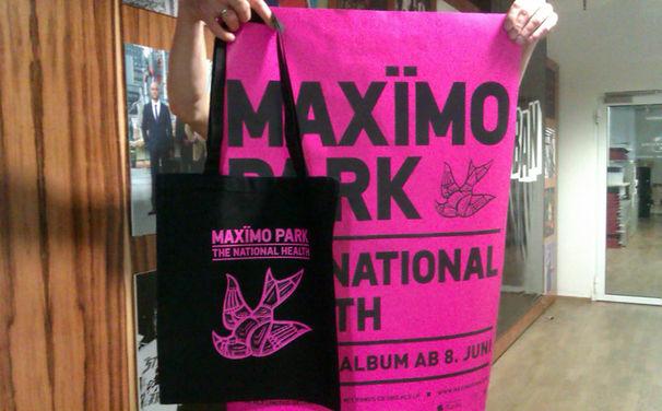 Maximo Park, The National Health: Gewinne das Fanpaket mit Tasche und Poster