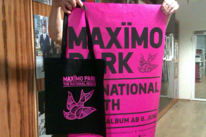 Maximo Park Fanpaket