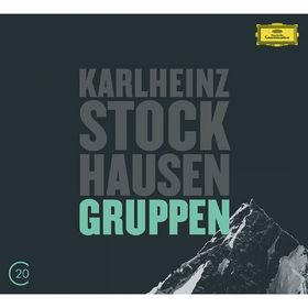 Die Berliner Philharmoniker, Kurtág: Grabstein für Stephan, Op. 15; Stele, Op. 33 / Stockhausen: Gruppen, 00028947903413