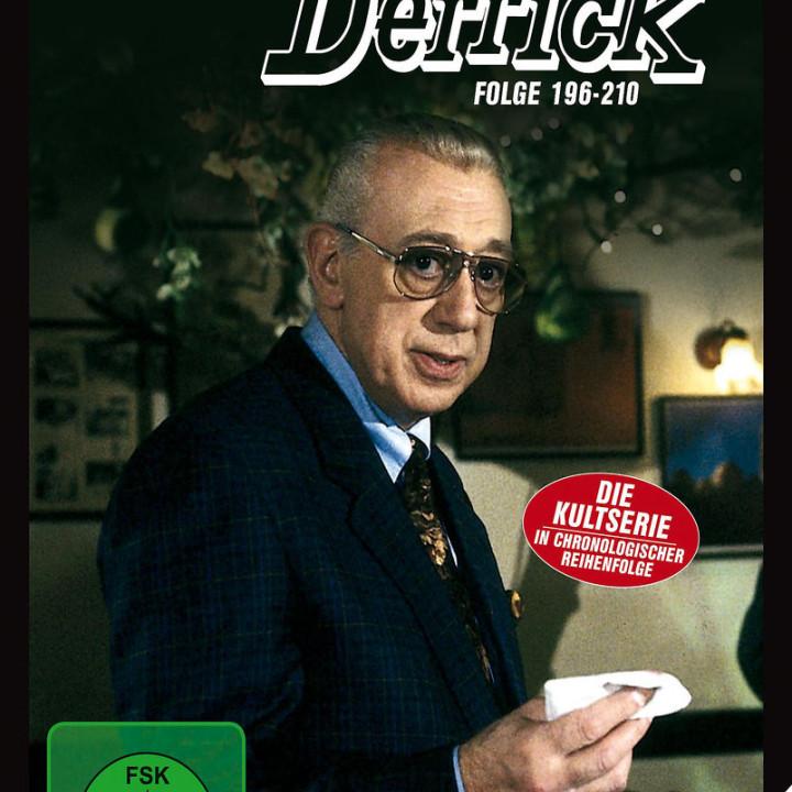Derrick Collector's Box 14 (5 DVD / Ep. 196-210): Derrick