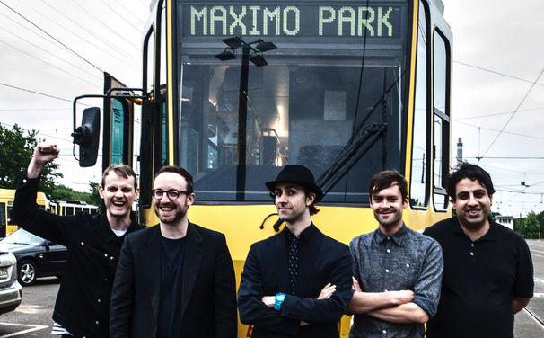 Maximo Park, 16. Juni: Maximo Park bei Arte Tracks
