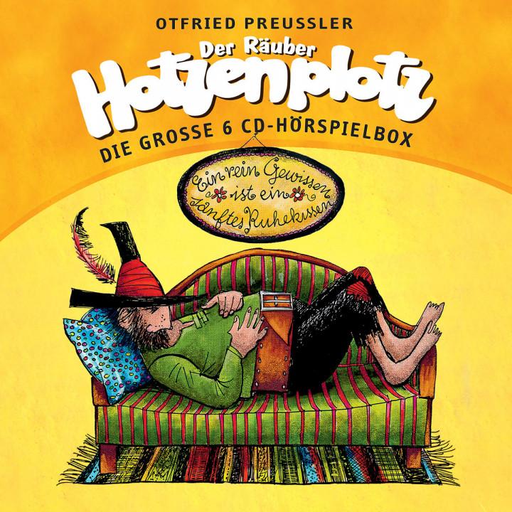 Der Räuber Hotzenplotz- die große 6 CD-Hörspielbox: Preußler,Otfried