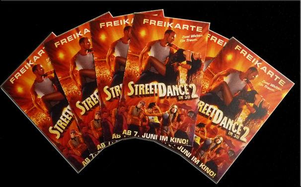 StreetDance OST, Gewinnt Kinokarten für StreetDance 2 in 3D!