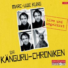 Marc-Uwe Kling, Die Känguru-Chroniken (live und ungekürzt), 09783869091082