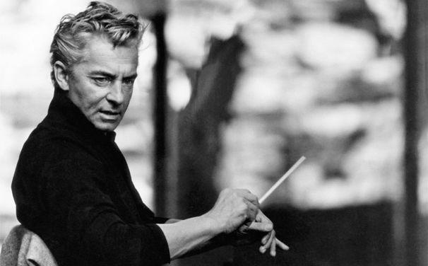 Herbert von Karajan, Yehudi Menuhin und Herbert von Karajan