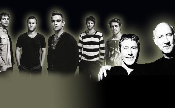 The Who, The Who und Take That live auf der Olympia-Abschlussfeier am 12. August