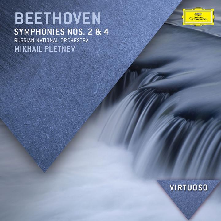 Beethoven: Symphonies Nos.2 & 4