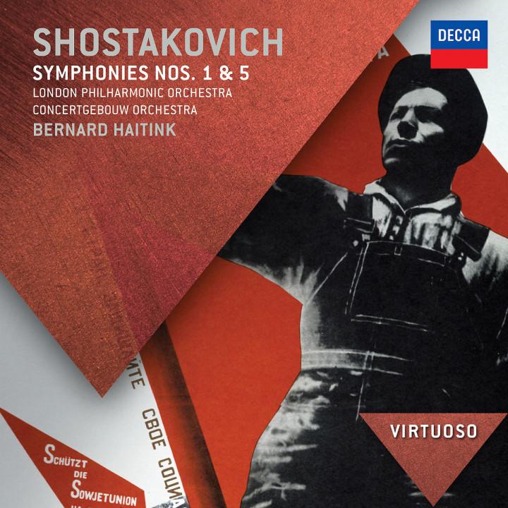 Shostakovich: Symphonies Nos.1 & 5