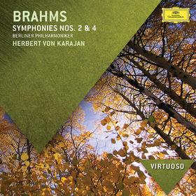 Die Berliner Philharmoniker, Brahms: Symphonies Nos.2 & 4, 00028947842194