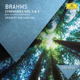 Die Berliner Philharmoniker, Brahms: Symphonies Nos.1 & 3, 00028947842187