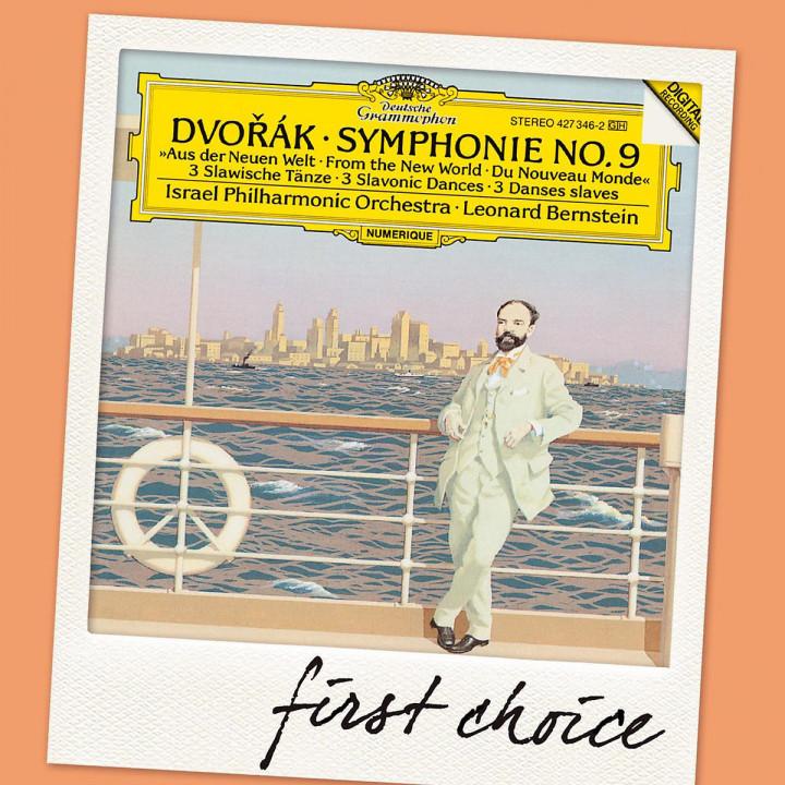 Sinfonie 9/Slaw.Tänze Op.46 (FC): Bernstein,Leonard/LPO