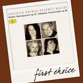 First Choice, Brahms: Klavierquartett, Op.25 / Schumann: Fantasiestücke, Op.88, 00028947903598
