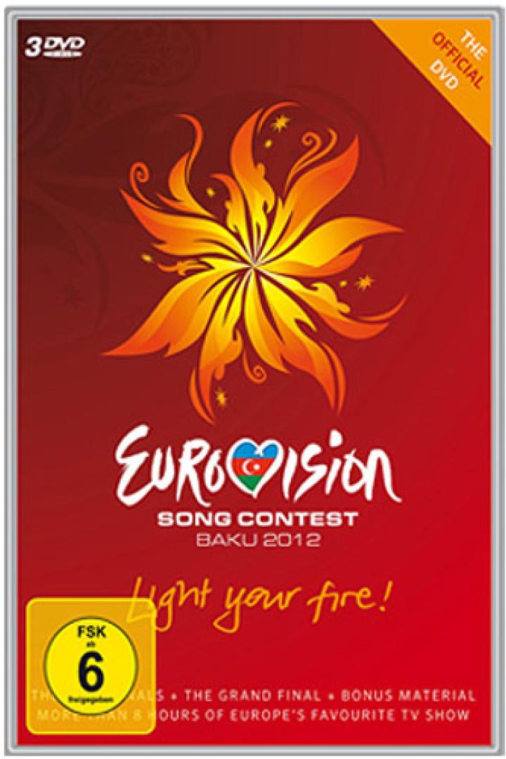 Eurovision Song Contest Baku 2012 - 3DVD