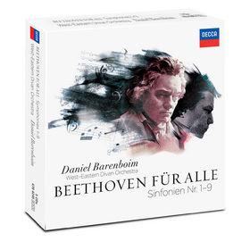 Daniel Barenboim, Beethoven für alle - Sinfonien Nr. 1-9, 00028947842453