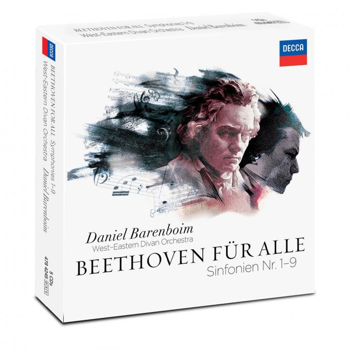 Beethoven für Alle Daniel Barenboim WEDO Packshot