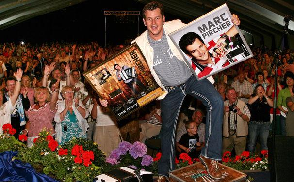 Marc Pircher, Besucherrekord beim Marc Pircher Fest im Zillertal
