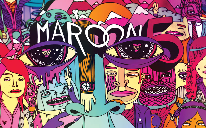 """Maroon 5   News   Out now: Maroon 5 Album """"Overexposed ..."""