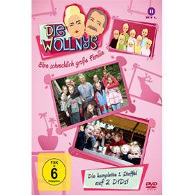 Die Wollnys, Die Wollnys - Eine schrecklich große Familie (Staffel 1), 00602537046232