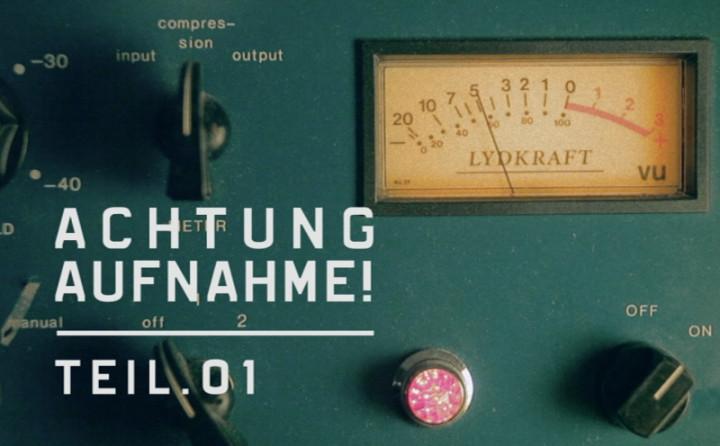 """""""Achtung Aufnahme Part 1"""" mit Samy Deluxe"""