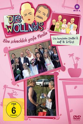 Die Wollnys, Die Wollnys - Eine schrecklich große Familie (Staffel 2), 00602537046324