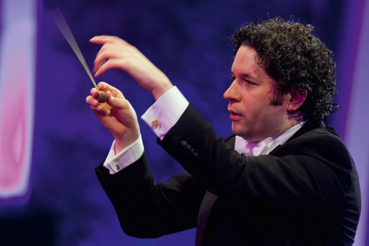 Gustavo Dudamel in Schönbrunn 2012