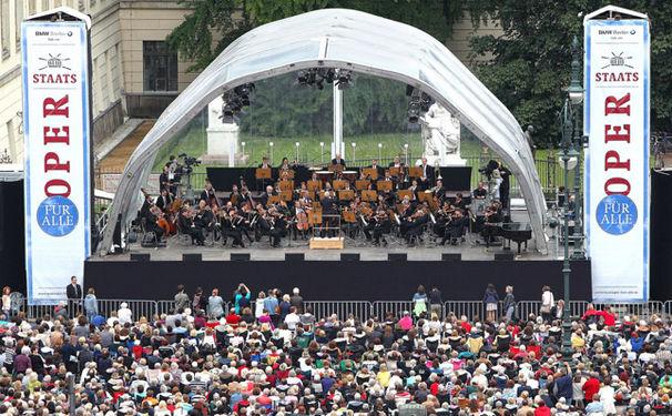 Daniel Barenboim, Daniel Barenboim lädt zur sechsten Staatsoper für alle