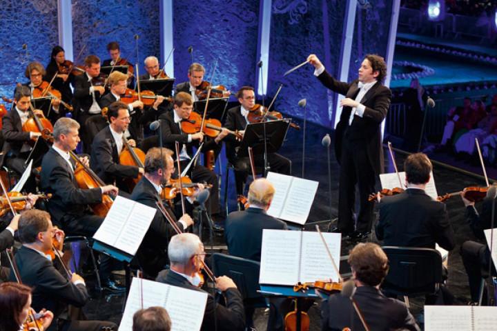 Gustavo Dudamel Sommernachtskonzert Schönbrunn c Richard Schuster