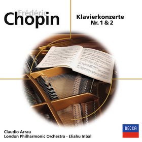 eloquence, Chopin: Klavierkonzerte Nr. 1 & 2, 00028948064212