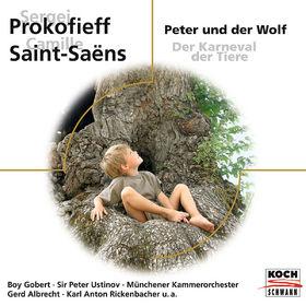 Prokofieff: Peter und der Wolf / Saint-Saëns: Der Karneval der Tiere, 00028947650805