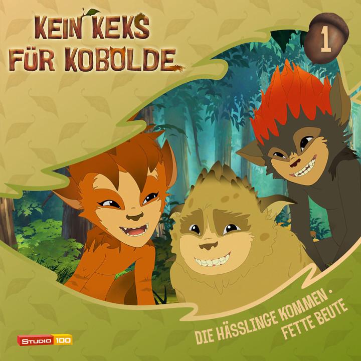 01: Die Hässlinge kommen / Fette Beute: Kein Keks für Kobolde (TV-Hörspiel)