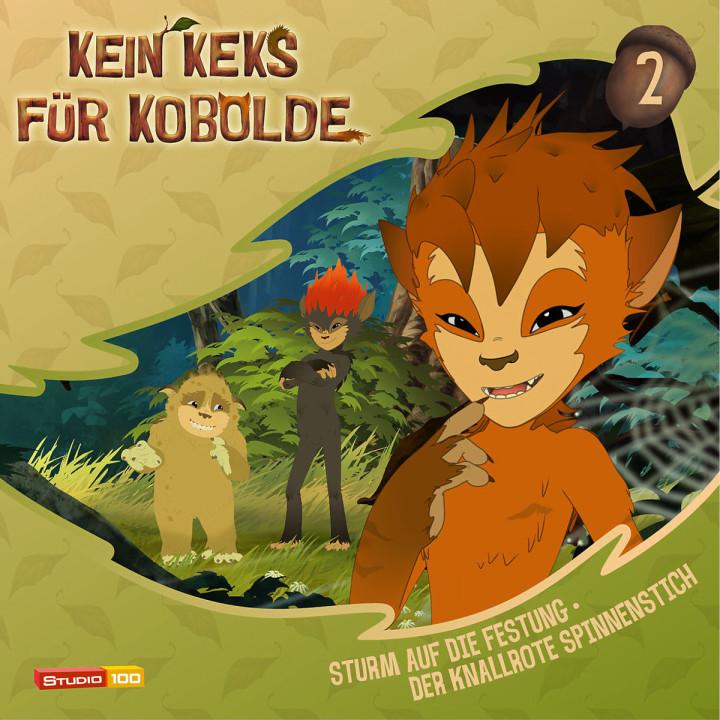 02: Sturm auf die Festung/Knallroter Spinnenstich: Kein Keks für Kobolde (TV-Hörspiel)