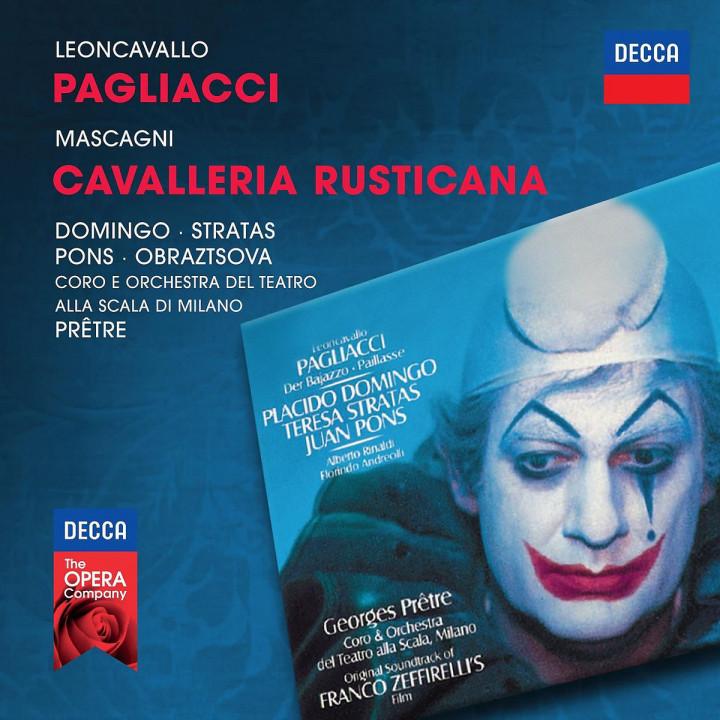 Pagliacci, Cavalleria Rusticana: Domingo/Stratas/Pons/Pretre/OTSM/+