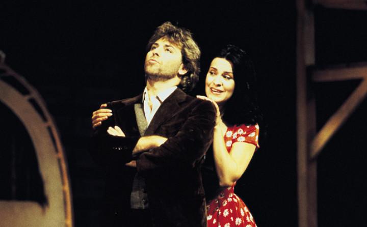 Roberto Alagna und Angela Gheorghiu in L'Elisir d'Amore