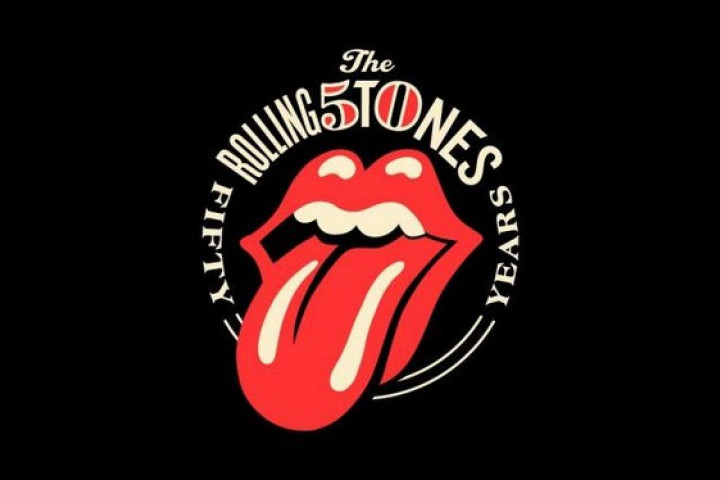 The Rollings Stones - Fifty Years Logo