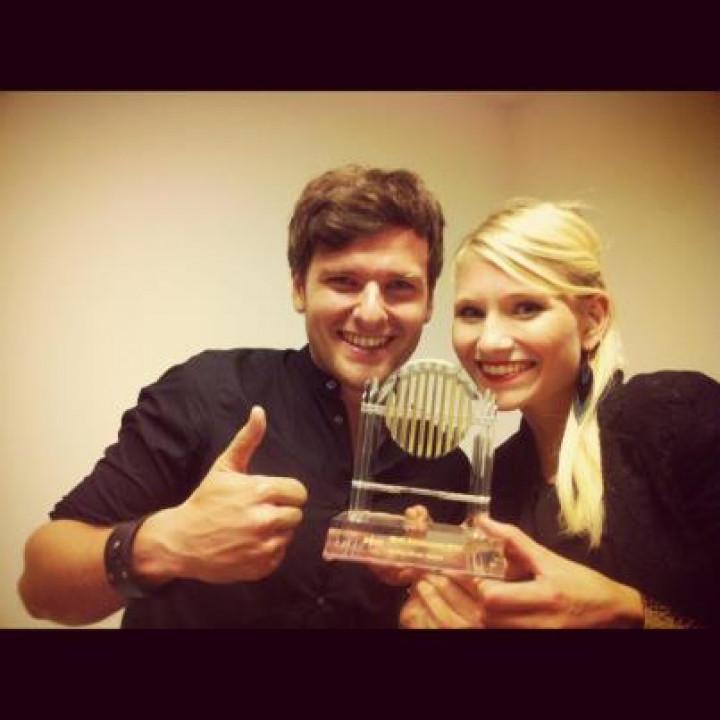 Glasperlenspiel erhält Radio Galaxy Award 2012