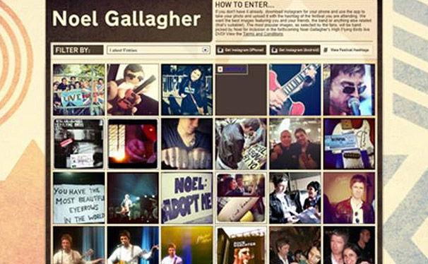 Various Artists, Bringt euer Foto von Noel Gallagher ins Booklet seiner neuen DVD