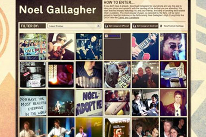 Noel Gallagher - Instagram News