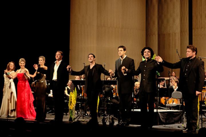 Don Giovanni mit Ildebrando D'Arcangelo, Mojca Erdmann und Rolando Villazon