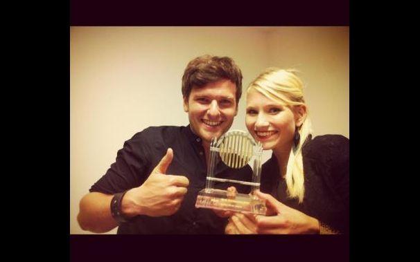 Glasperlenspiel, Glasperlenspiel erhält Radio Galaxy Award 2012