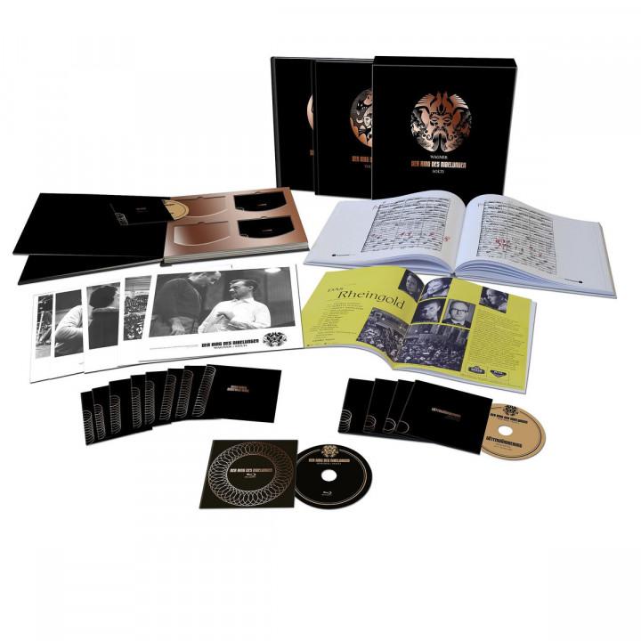 Der Ring des Nibelungen (Ltd. Edt.): Solti/Nilsson/Ludwig/Flagstad/Hotter/King/WP/+