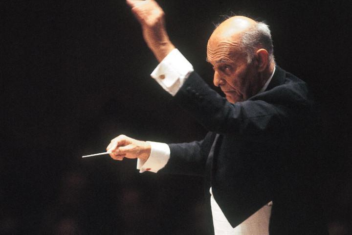 Sir Georg Soltij, c Jim Steere/Decca