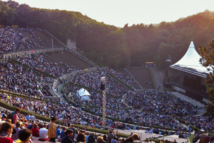 Daniel Barenboim und West-Eastern Divan Orchestra in der Berliner Waldbühne 2012