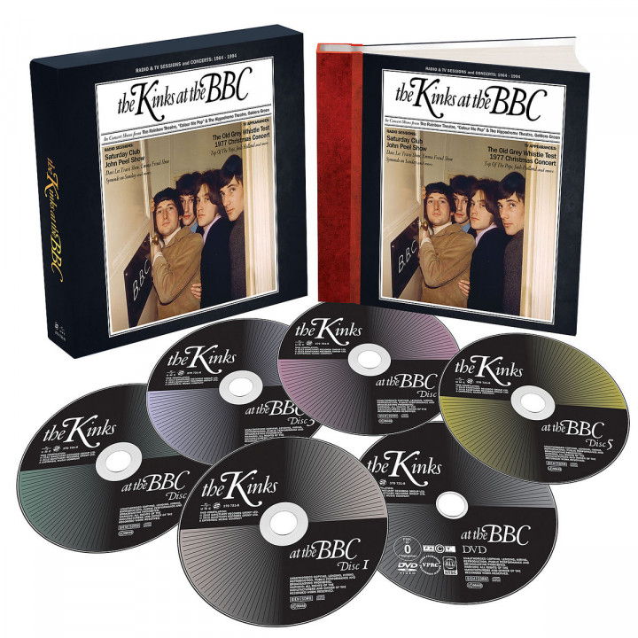 At The BBC (Limited Edition - Boxset): Kinks,The