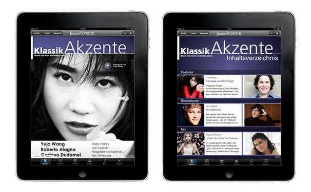 KlassikAkzente jetzt auch als kostenlose App auf dem iPad